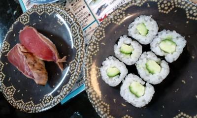 グルメ回転寿司市場新都心店 寿司1