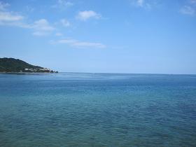 奥武島付近の海