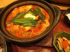 ヘルシー定食♪大戸屋のキムチ鍋