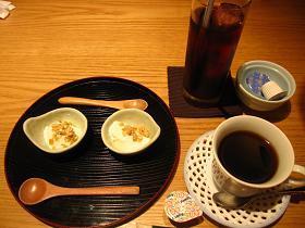 和食ダイニング幸の食後のドリンクとデザート