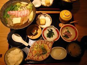 和食ダイニング幸の豚しゃぶ1