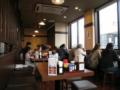 讃岐釜揚げうどん 丸亀製麺 宜野湾店の店内雰囲気