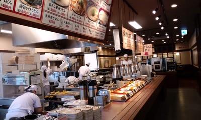 美味しい丸亀製麺 宜野湾店の店内雰囲気