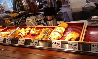 美味しい丸亀製麺 宜野湾店の天ぷら