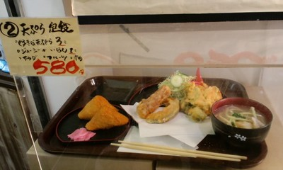 TOMITONにある丸友てんぷら 天ぷら定食