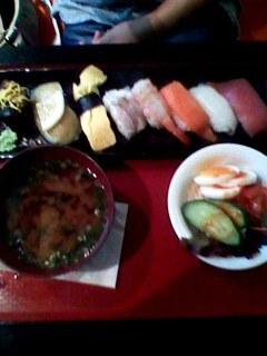 寿司ランチ 雅のお得ランチセット
