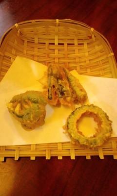 江戸前 天ぷら専門店 八(ハチ)の野菜天ぷら定食