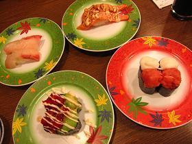まぐろ問屋 十代目 やざえもん 沖縄新都心店のお寿司